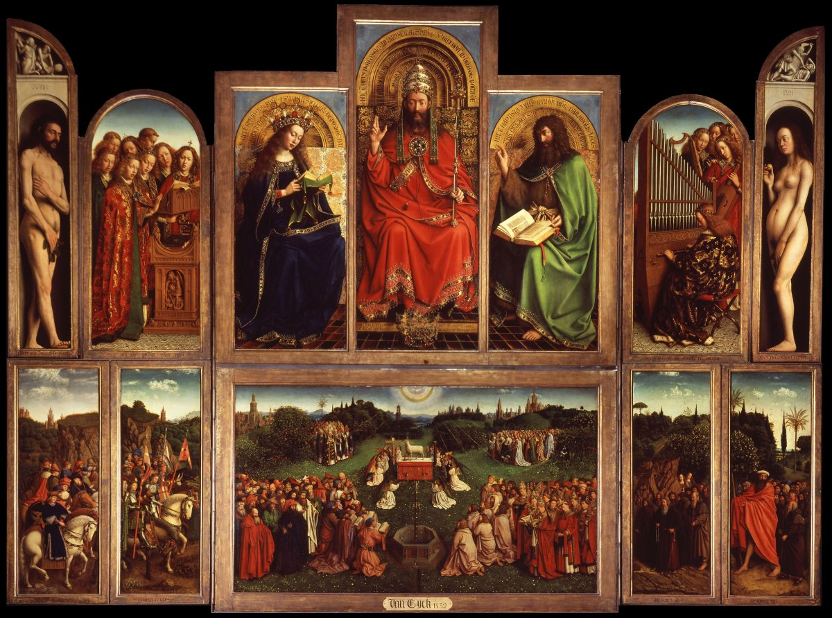 What is the GhentAltarpiece?