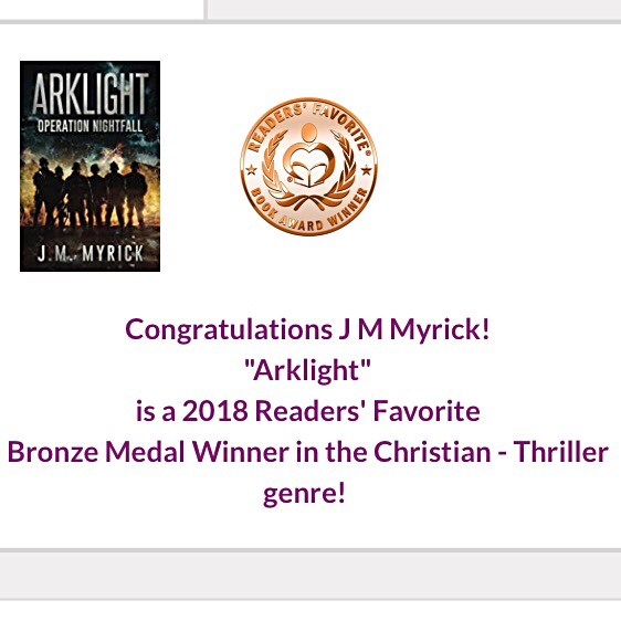 Arklight wins Readers' Favorite Bronze Medal